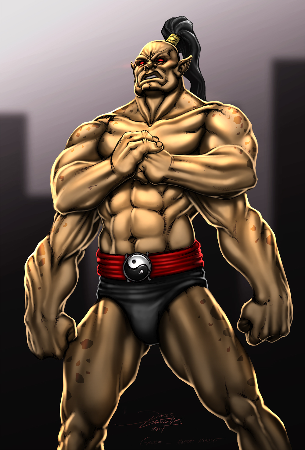 Goro (Mortal Kombat) by jameslink