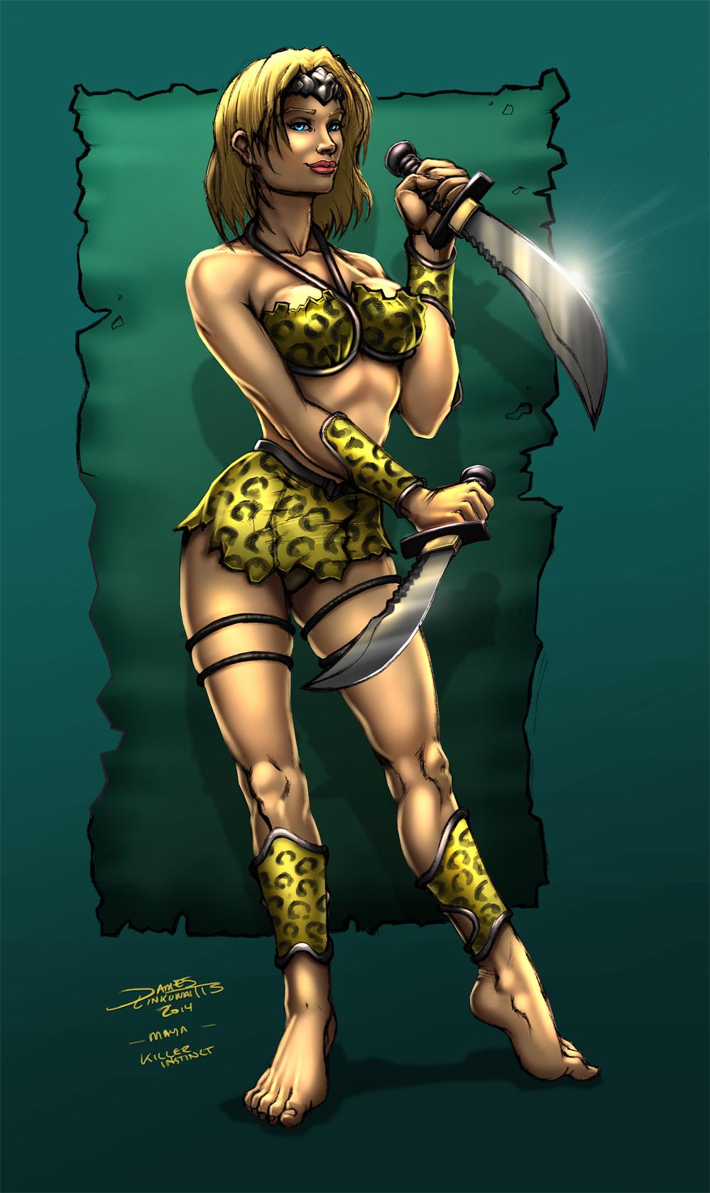 Maya (Killer Instinct) by jameslink