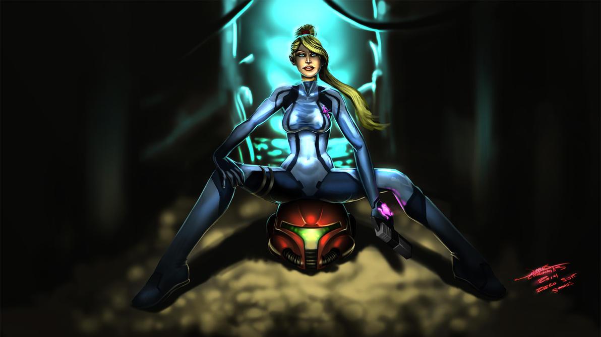 Samus Aran - Zero Suit by jameslink
