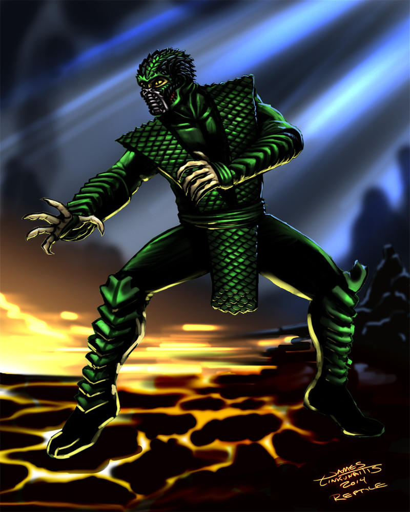 Reptile (Mortal Kombat) by jameslink