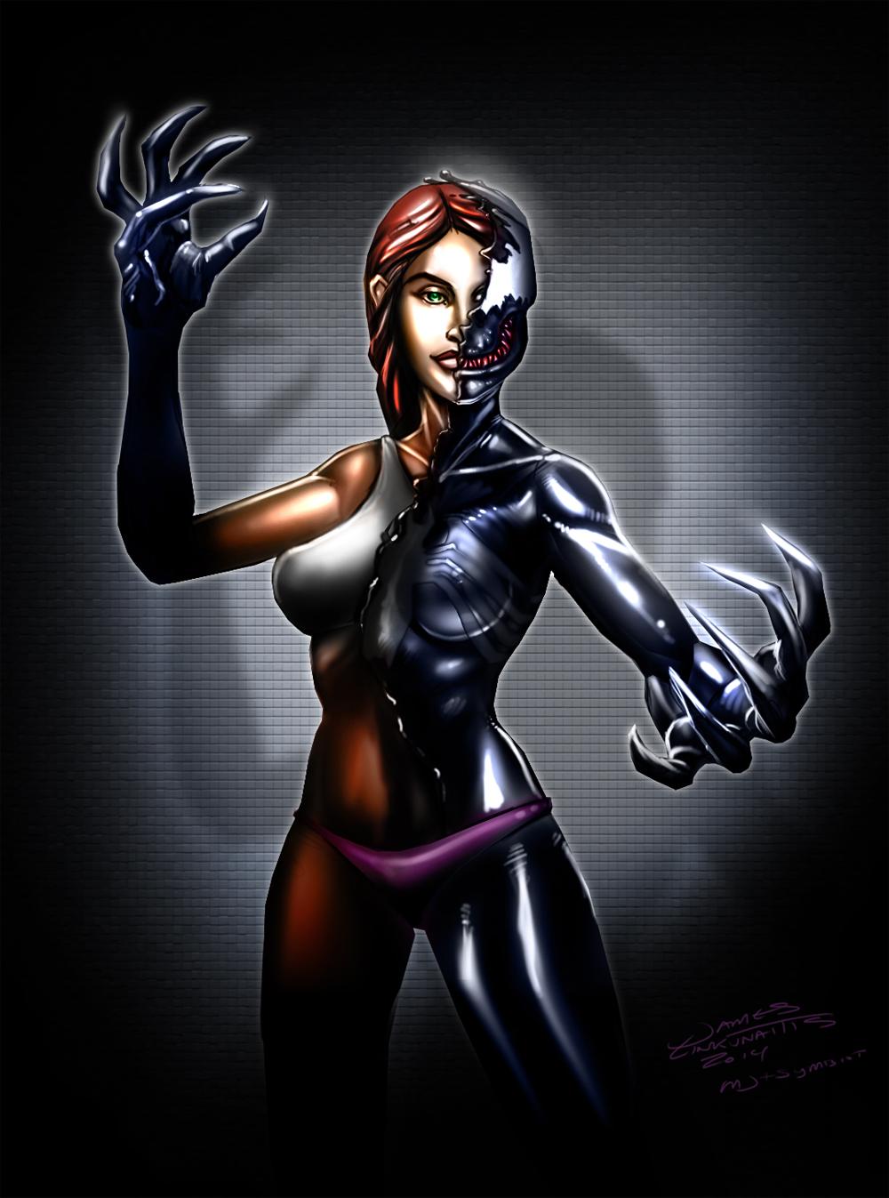 MJ + Symbiot by jameslink