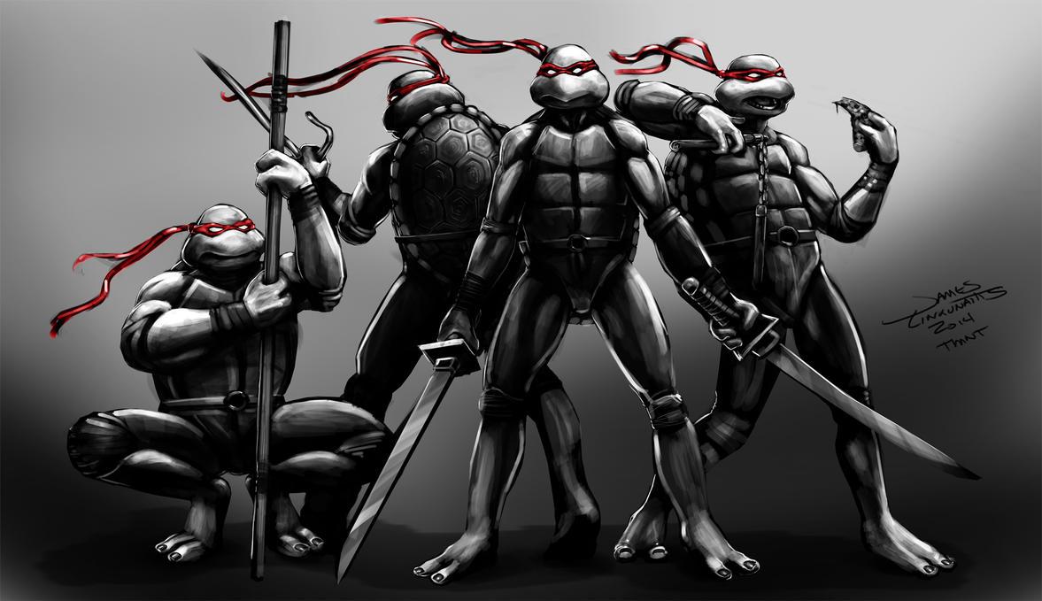 Teenage Mutant Ninja Turtles (Weekend Challenge) by jameslink