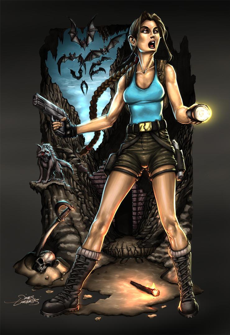 Lara Croft (Fan Art) by jameslink