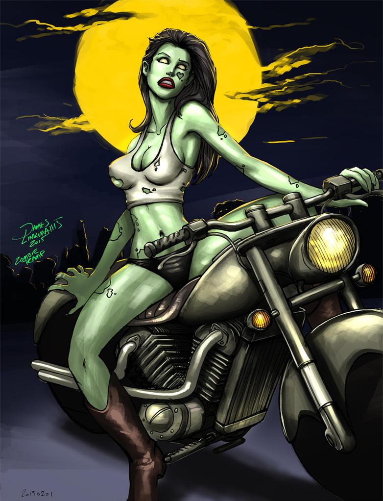 Zombie Tramp by jameslink