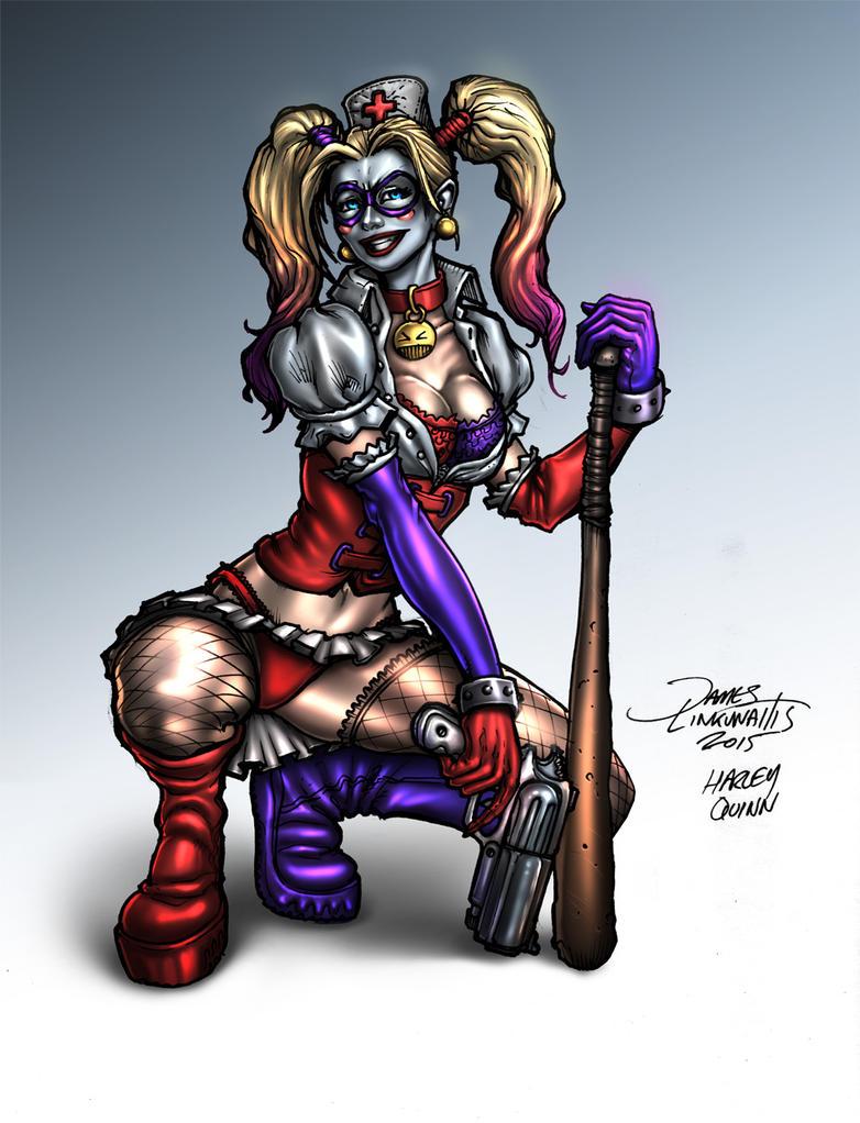Harley Quinn - Batman by jameslink
