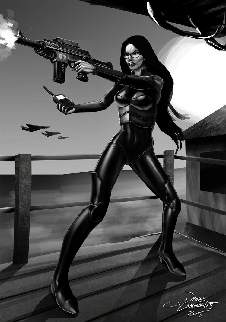 Baroness - G.I.Joe (Unfinished) by jameslink
