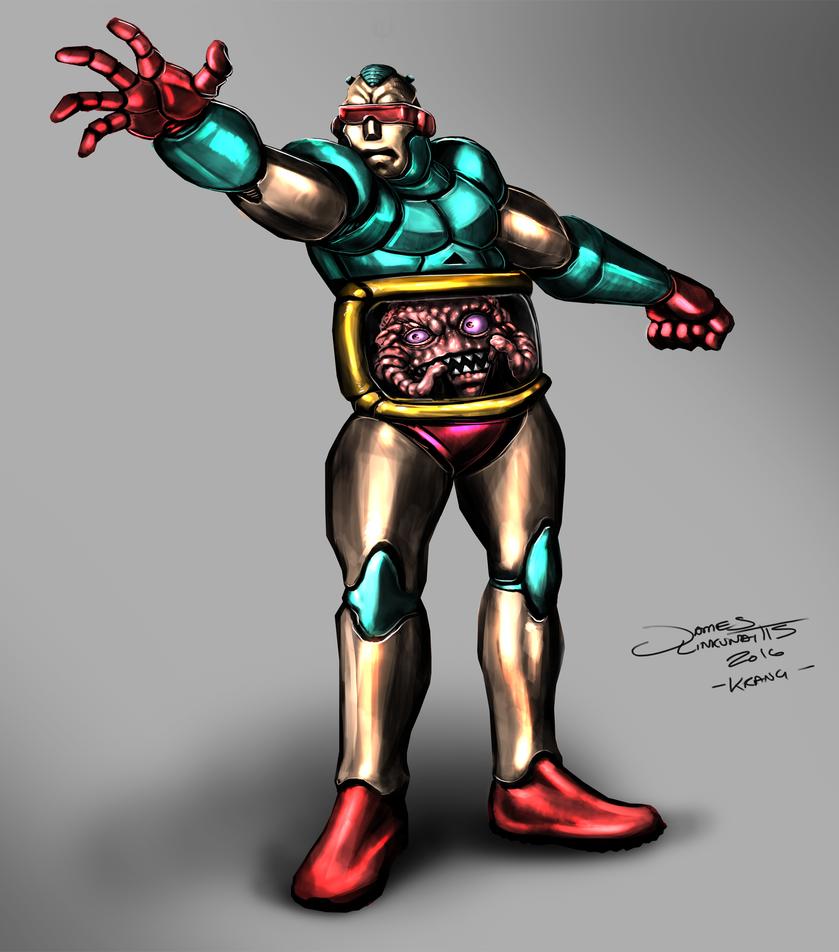 Krang (Teenage Mutant Ninja Turtles) by jameslink