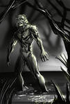 The Gill Man (Daily Sketch Challenge) by jameslink