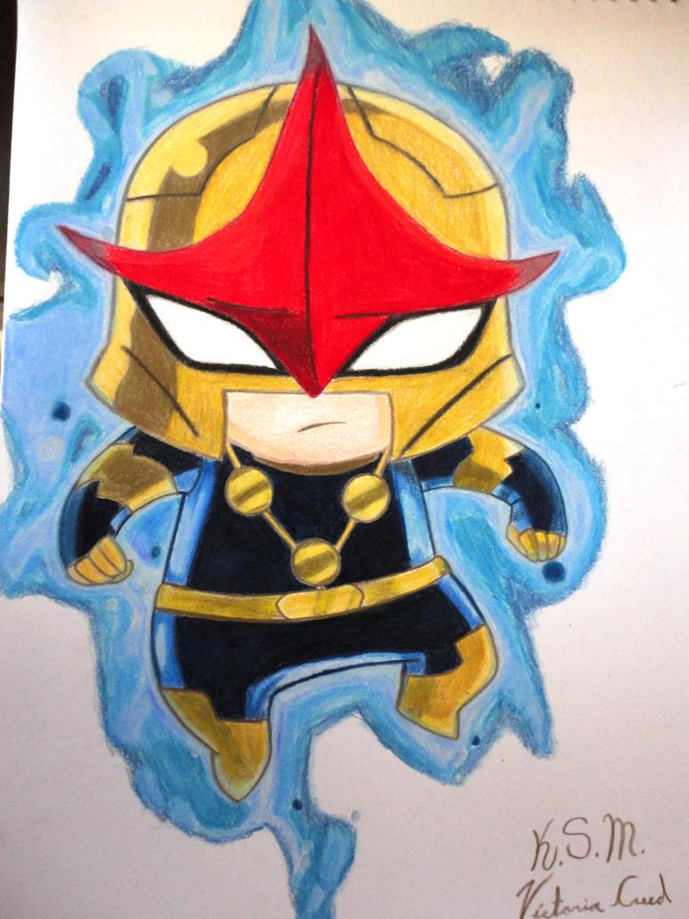 Chibi nova by victoria creed on deviantart - Nova ultimate spider man ...