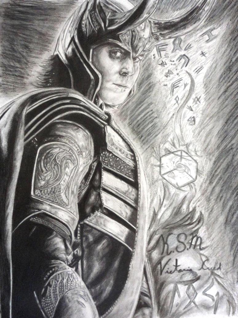 Loki by Victoria-Creed