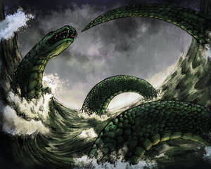 Jormungandr, the Midgard Serpent