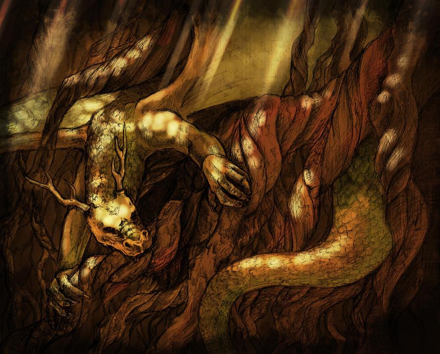 nidhogg dragon norse - 900×724