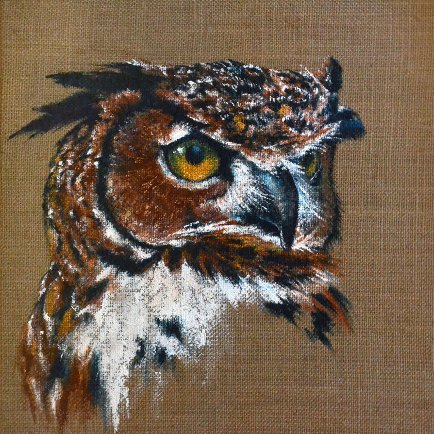 The Great Horned Owl by RatatoskAS