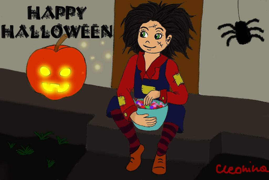 Happy halloween by cleonina