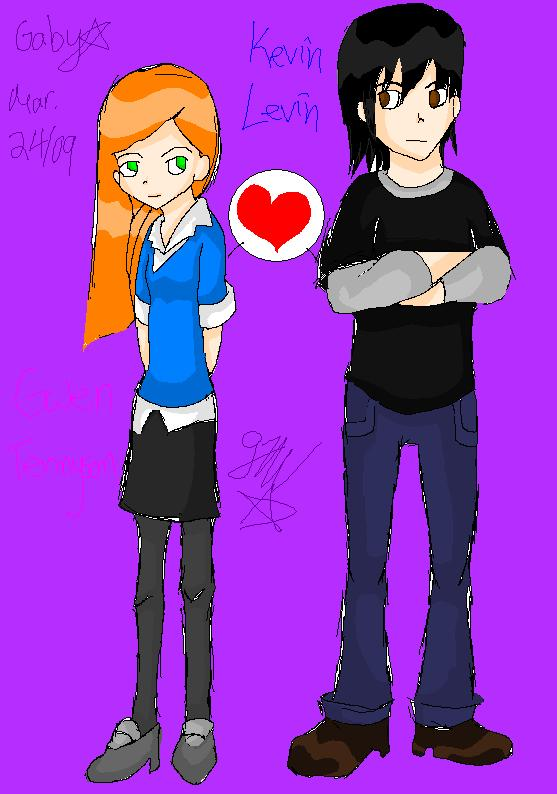 Gwen Tennyson und Kevi...