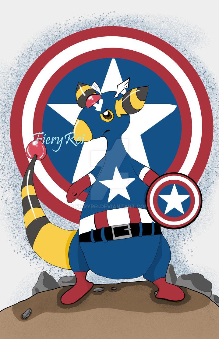 Captain Ampharos by FieryRei