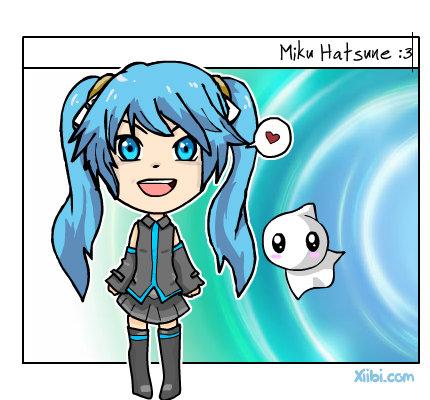 Miku hatsune ^^ by Erniesa