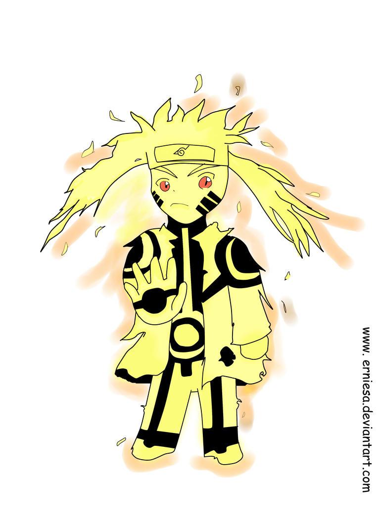 Naruto Kyuubi Sage Mode by ErniesaSage Mode And Kyuubi Mode