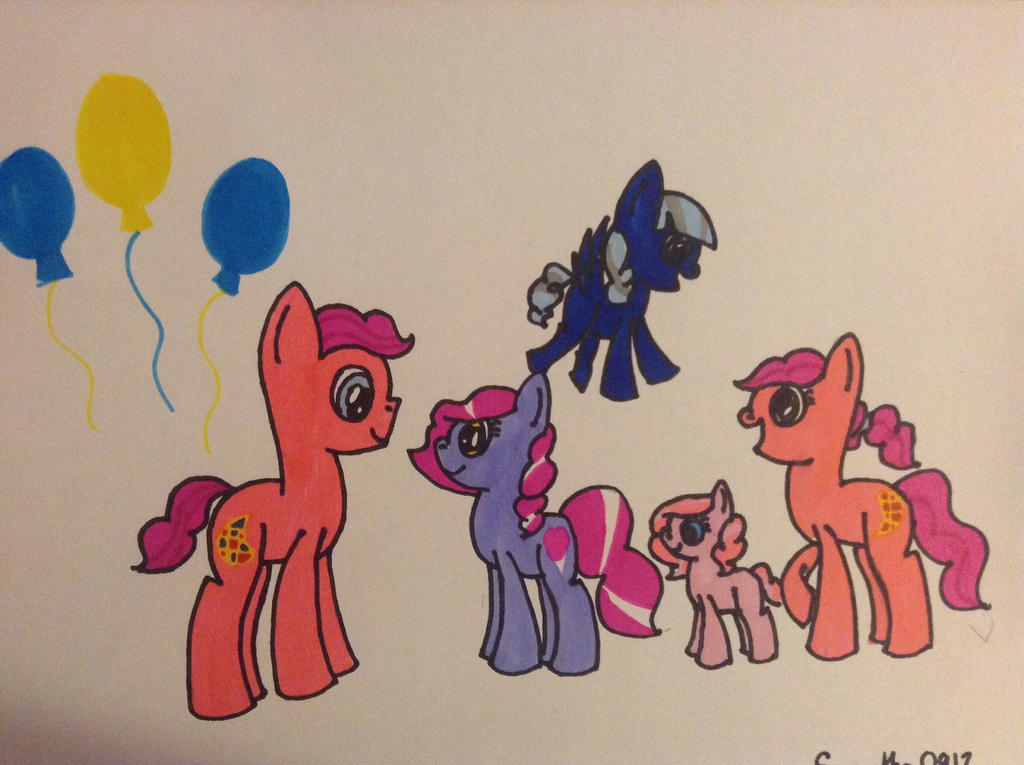 Berry and Cherry meets Candy, Cloudy, and Sugar by Samantha0912