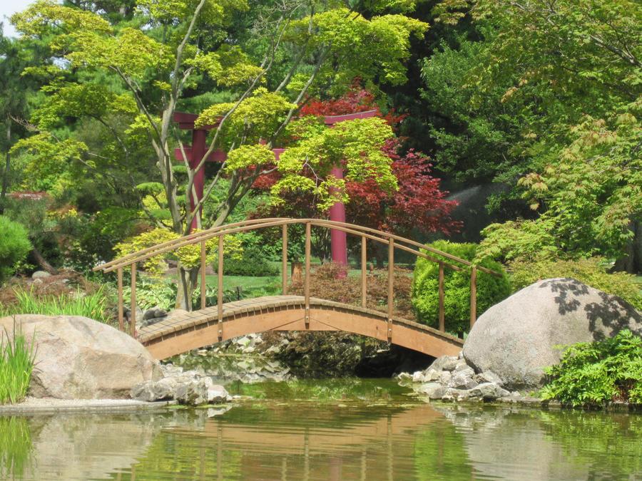 Asian Garden Bridge by poisongrin on DeviantArt