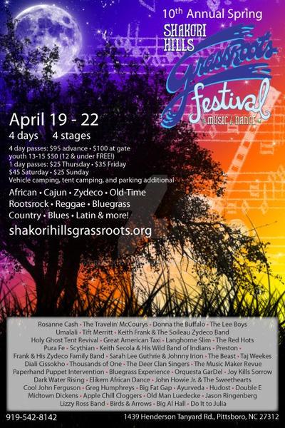 10th Annual Shakori Hills Grassroots Festival by Rufukitty