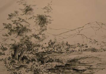 lake by MonikaDomaszewska