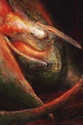 Dragon by MonikaDomaszewska