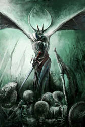 Necromancer by MonikaDomaszewska