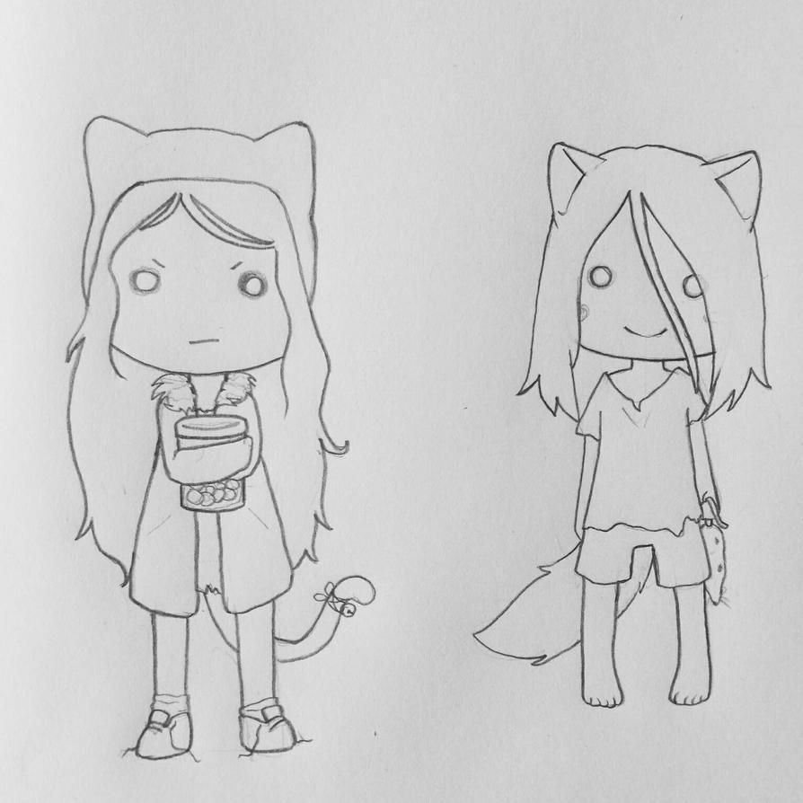 Lollie and Wolfie 1 by Tefu-Tefu