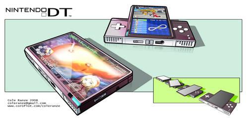 Nintendo DT handheld concpet