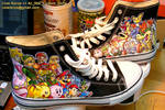 Hand Painted Nintendo Kicks