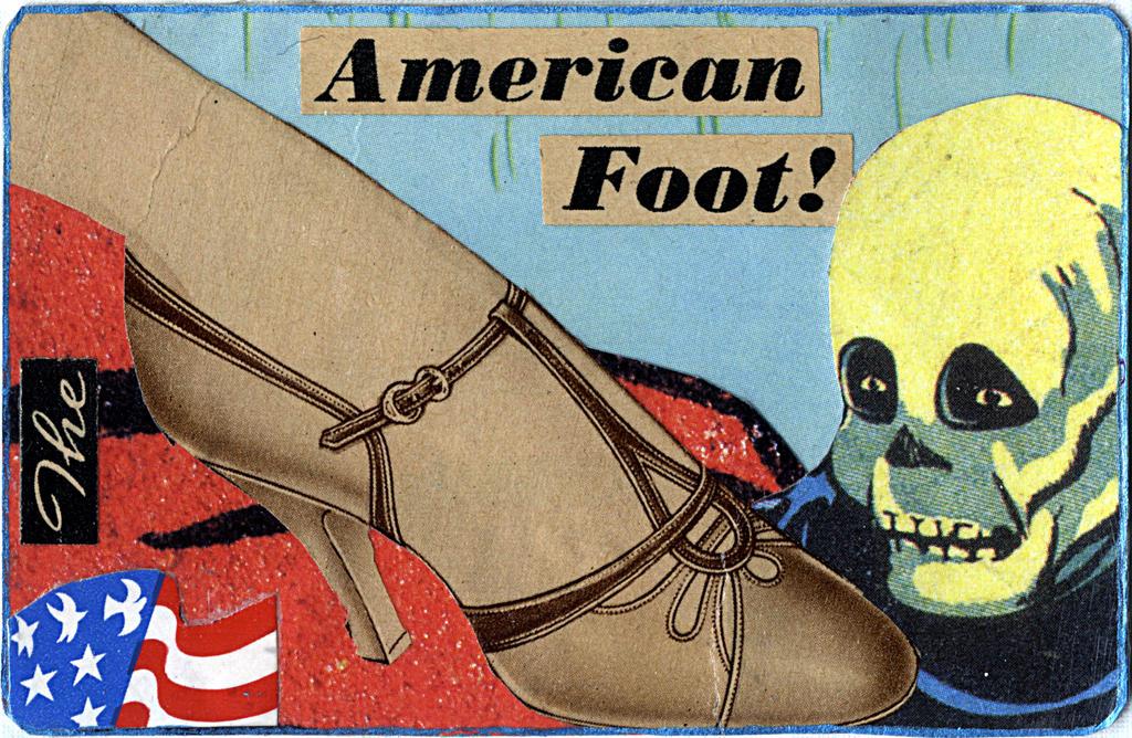 The American Foot by randoymwordsart