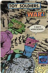 Toy Soldiers by randoymwordsart