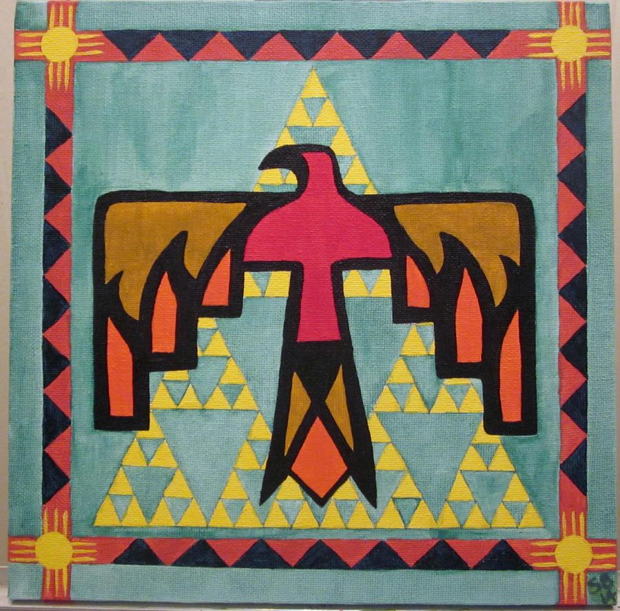 Native American Thunderbird By Mayonessa On Deviantart