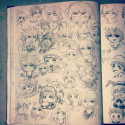 Chibi Anime Characters Pt. 1