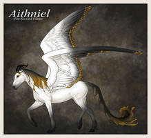 Aithniel, new character by kaons