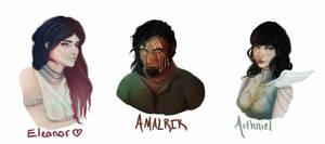 Character Headshots by kaons