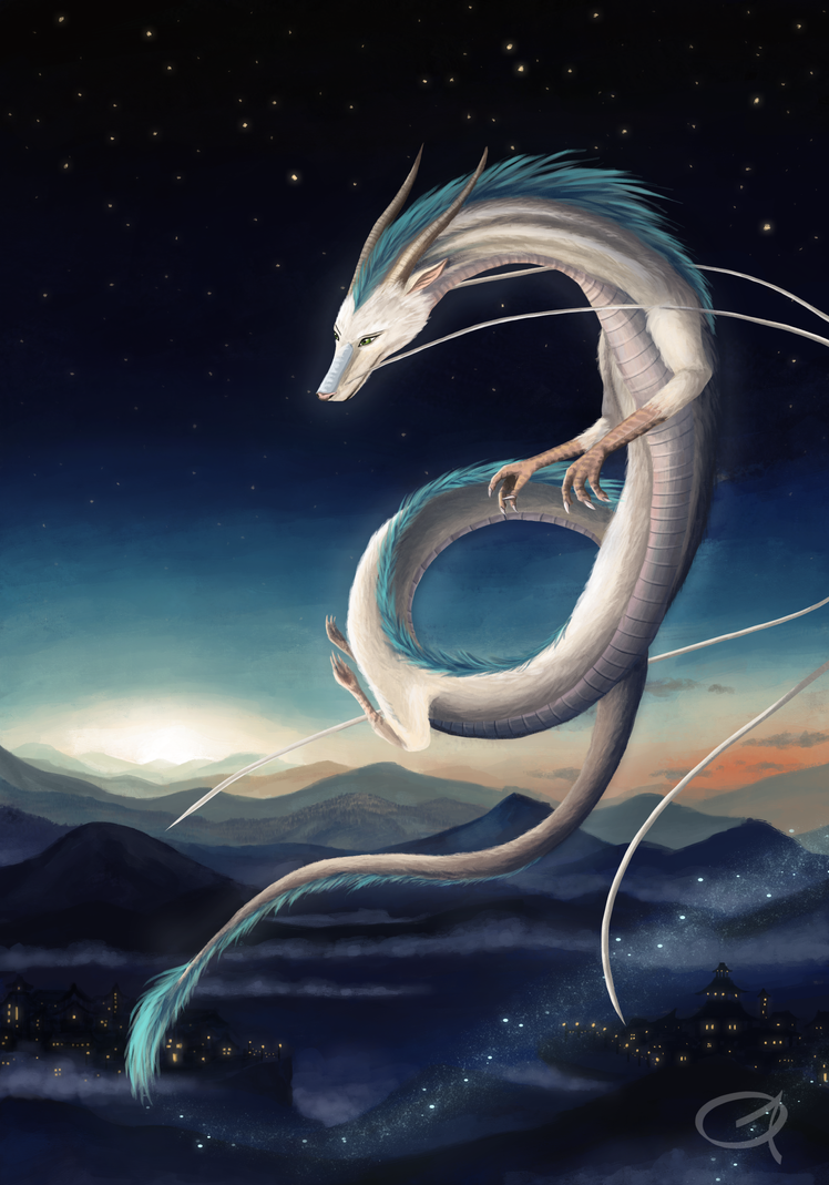 Haku fanart by Grees19