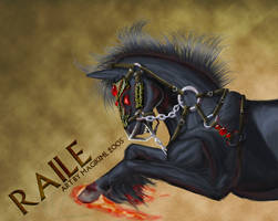 Raile - TJB Art Trade by magikimi
