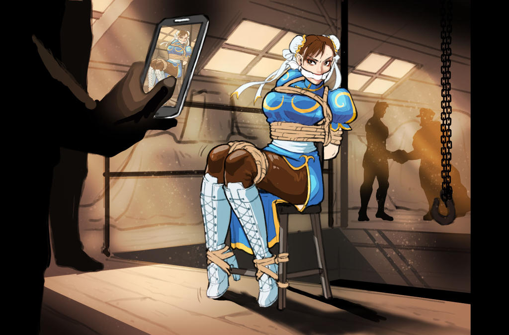 Chun-Li kidnapped by SailorDiana