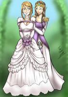 A (surprise) Nintendo Royal wedding by SailorDiana