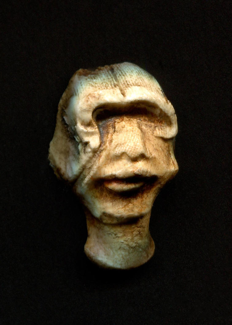 shellmeted man by KwasiRa