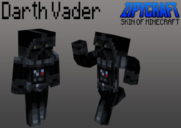 Minecraft Skin Darth Vader By Zipycraft On Deviantart