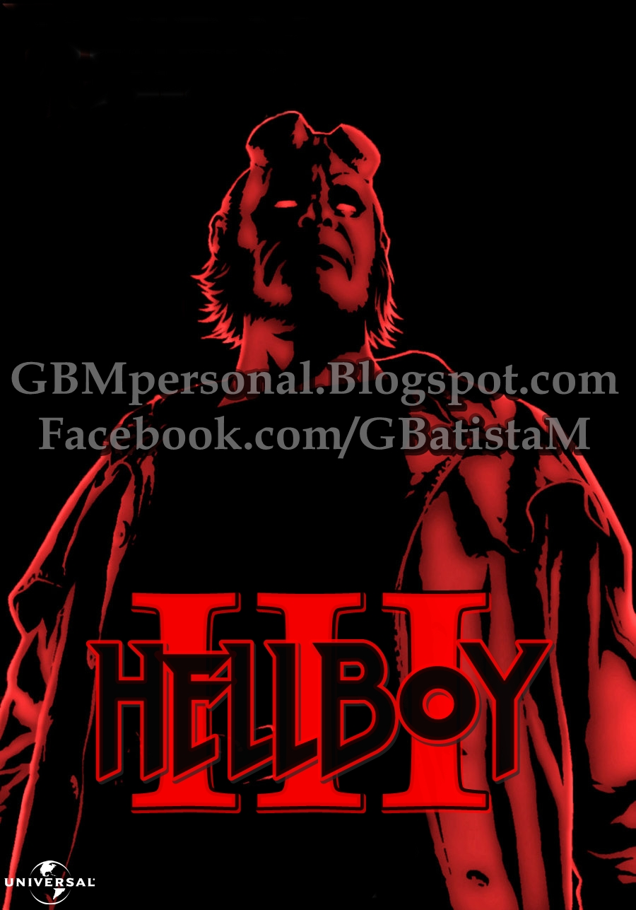 Hellboy 3 Fan-poster by GBMpersonal