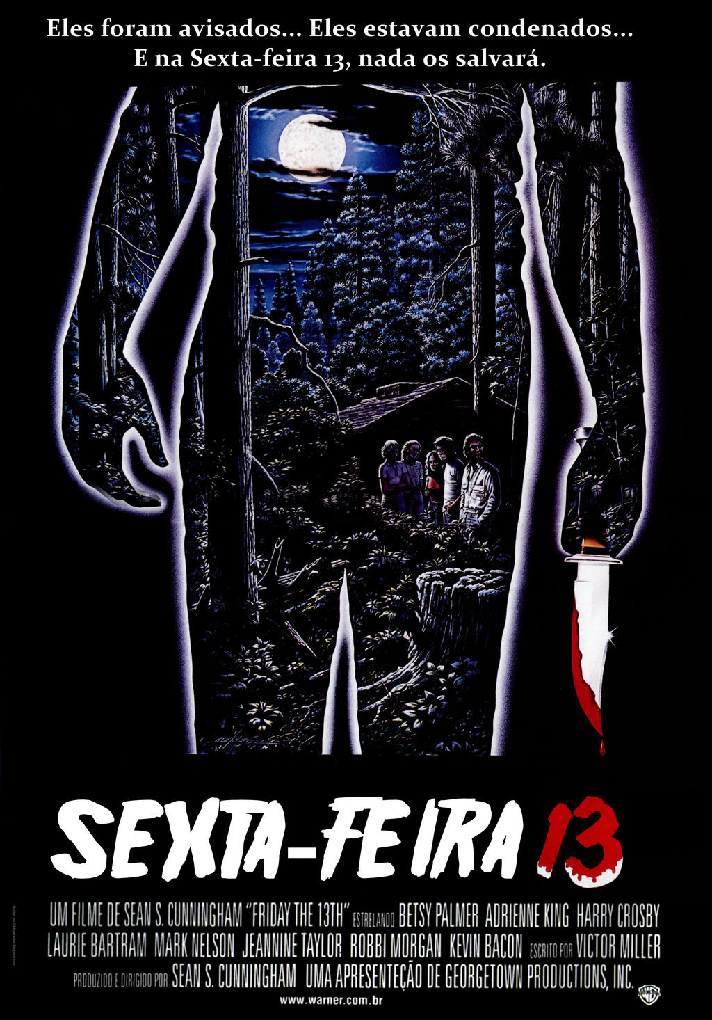 Friday 13th (1980) - Brazilian Poster (fan-made) by ...