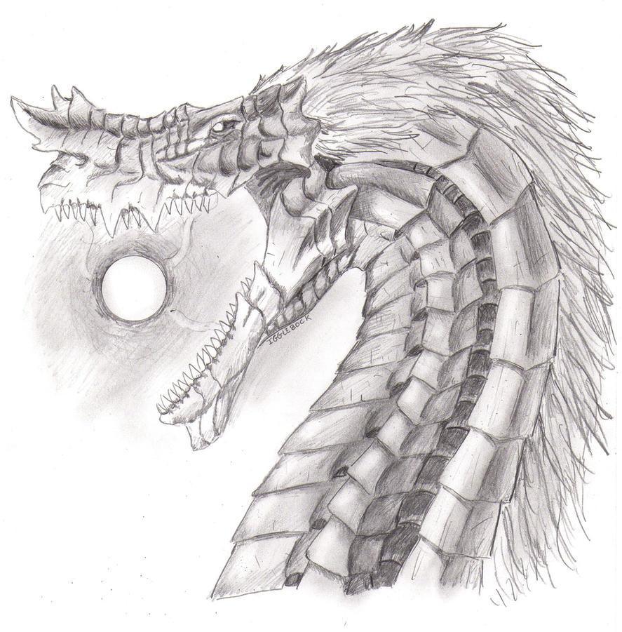 Dragon Profile 2 - Violent Divinity by Igglebock