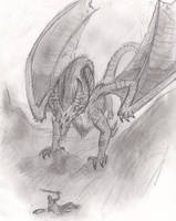 Revenge of Puff (Sketch) by Igglebock