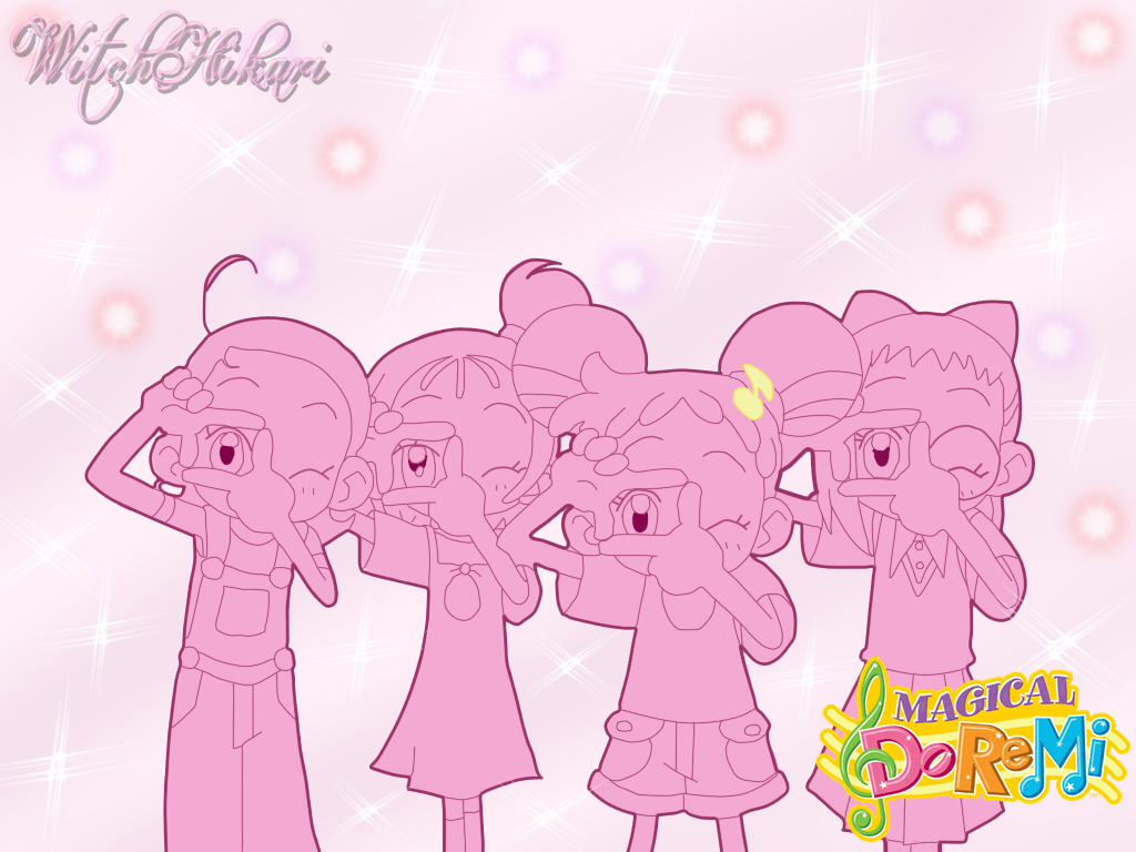 Ojamajo Doremi Sharp Wallpaper By WitchHikari