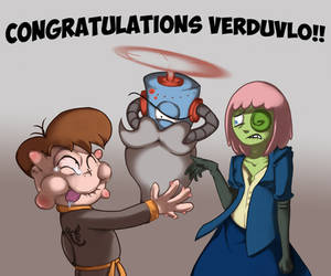 Congratulations Verduvlo!~
