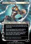 Gideon Blackblade by BLACKARUCADO